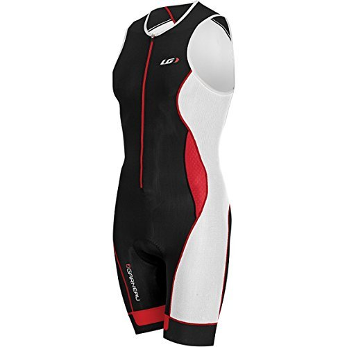 Louis-Garneau-Pro-Triathlon-Suit-Mens-BlackGinger-M-Mens-0