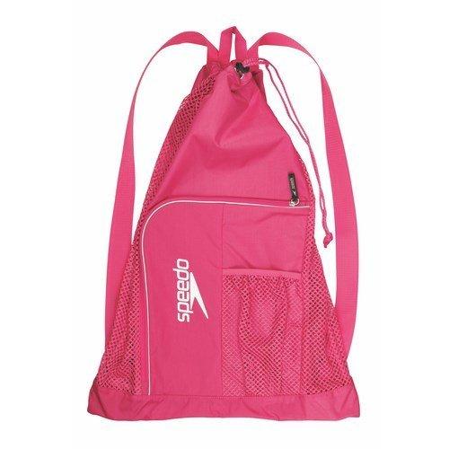 Speedo-Deluxe-Ventilator-Mesh-Equipment-Bag-Fuchsia-Purple-0