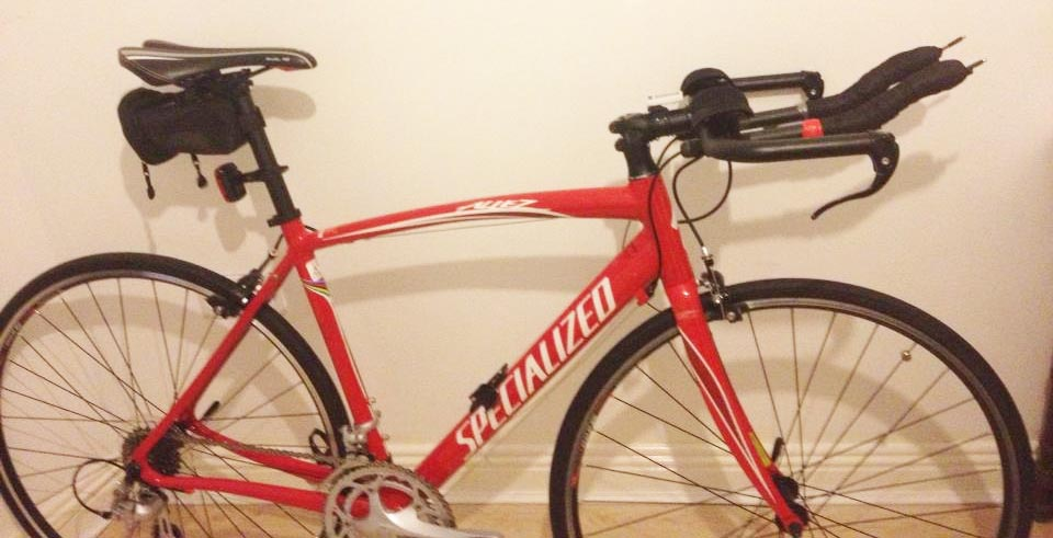 first triathlon bike